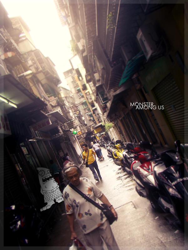 Monster Among Us by mujiri