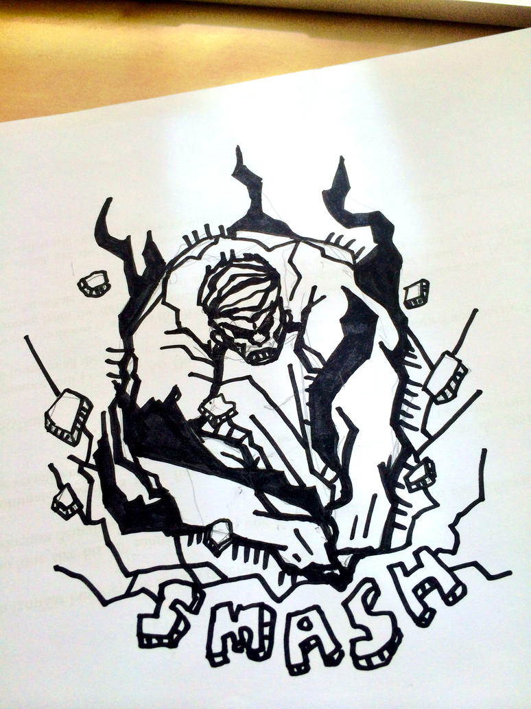 Hulk Smash! by mujiri