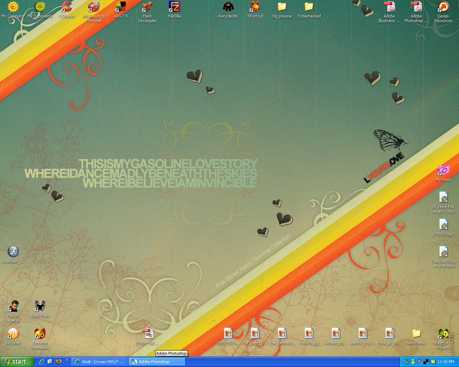 Desktop 1.0 by mujiri