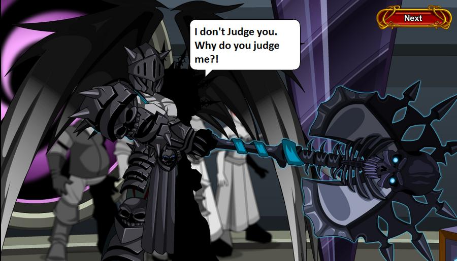 Why Do You Judge Me? by FalseGodsSlayer