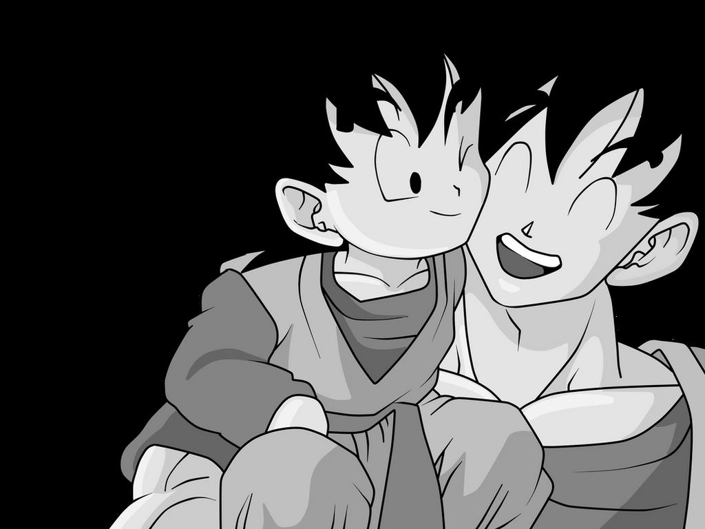 Goku And Goten D By Xantrogamerx On Deviantart