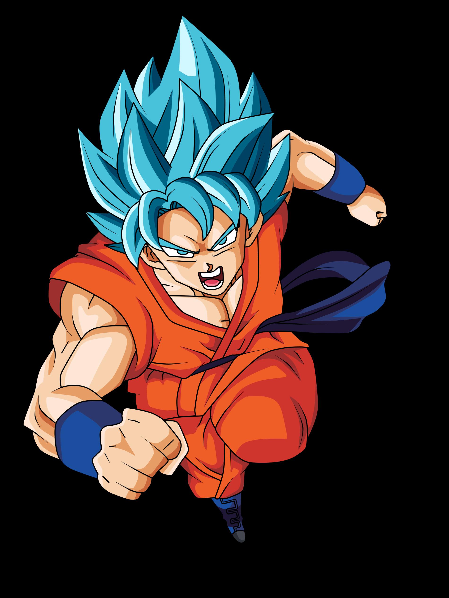 Goku SSGSS   Dragon ball Super   Render by xAntroGamerx on ...