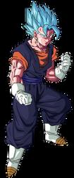Vegito | Vegetto SSGSS Dragon Ball Super | Render by xAntroGamerx