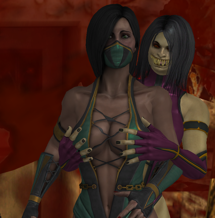 Jade N Mileena By Shadowtheblack On Deviantart