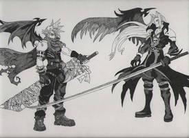 Kingdom Hearts Duel by JiLinn
