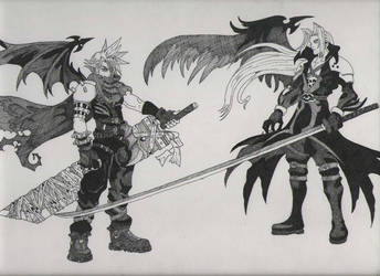 Kingdom Hearts Duel by JiLinn
