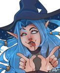 Mitzy the Blue Witch