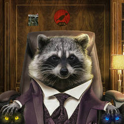 Mr. Racoonster by CountIS