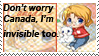Hetalia Canada Stamp by CheeseyDonut