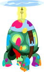 Tank the Tortoise Vector MLP FIM
