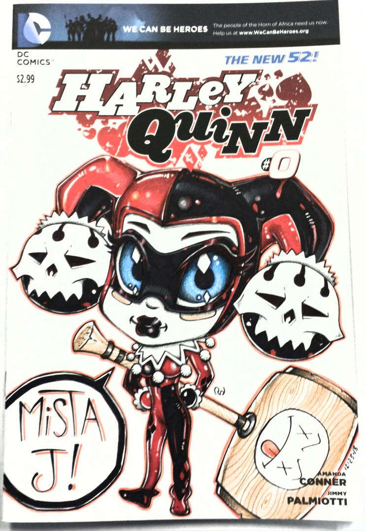 Harley Comic Book by Chibikaos