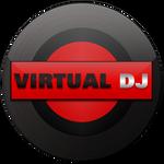 Virtual dj-icon