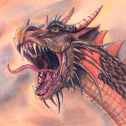Dragon by SzandorDuBois