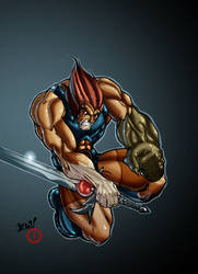Jces' Lion-o by psychoheat