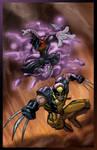 Nightcrawler n Wolverine