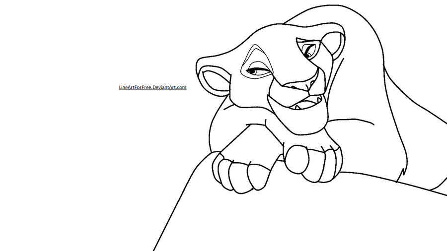 Lion king lioness drawings gallery for Lioness coloring pages