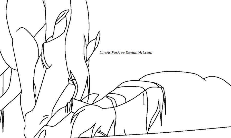 Don\'t Leave Me Horse Base: 13 by LineArtForFree on DeviantArt