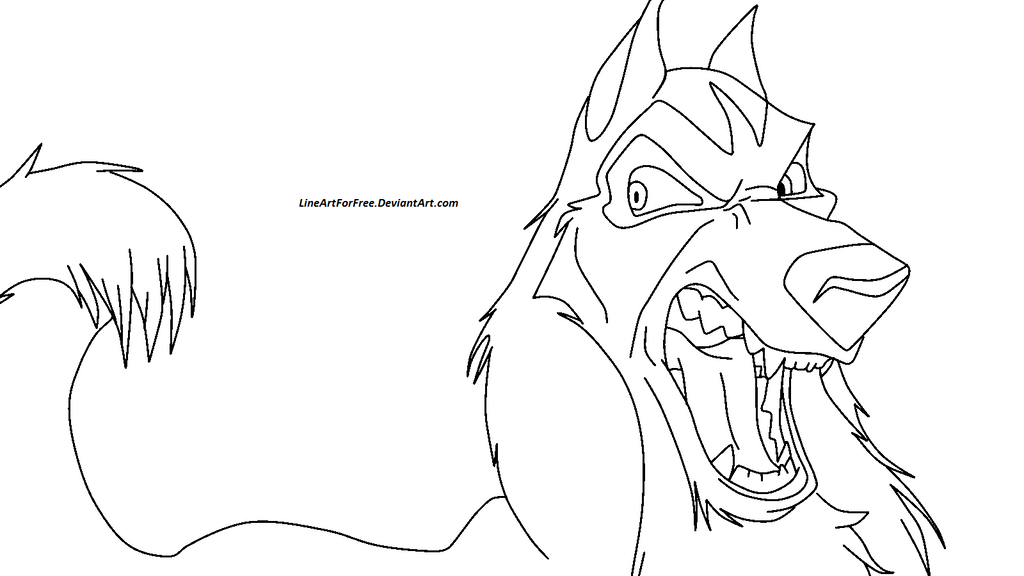 Balto base 4 by lineartforfree on deviantart for Balto coloring pages