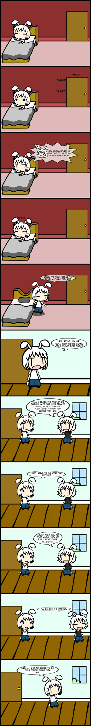 New Rabbits going to Gensokyo Chapter 1 Part 1 by Mick-Blend