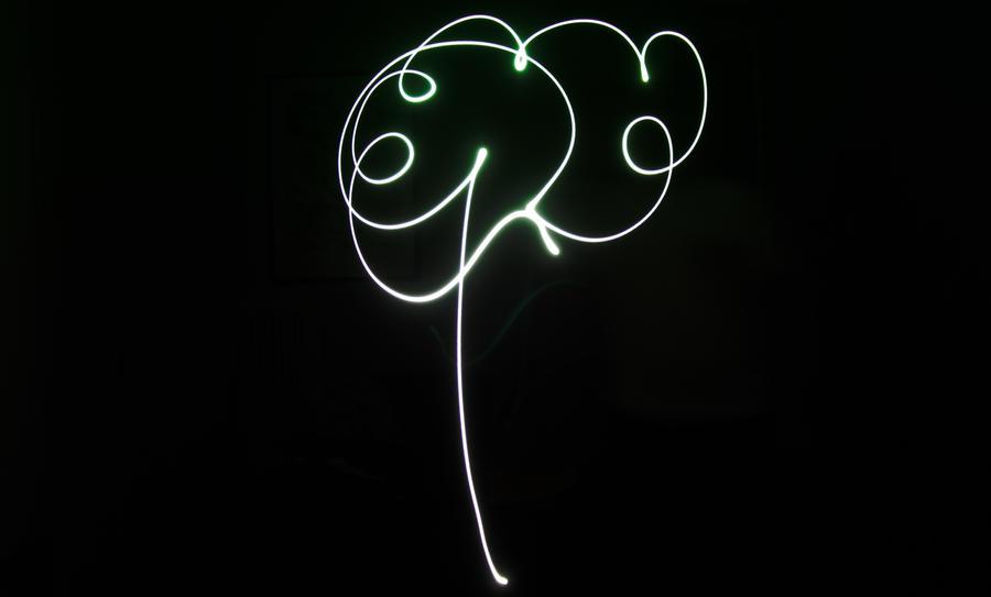 A tree of light by SuperTigno
