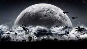 Hl2 Combine + Moon by TmViktor