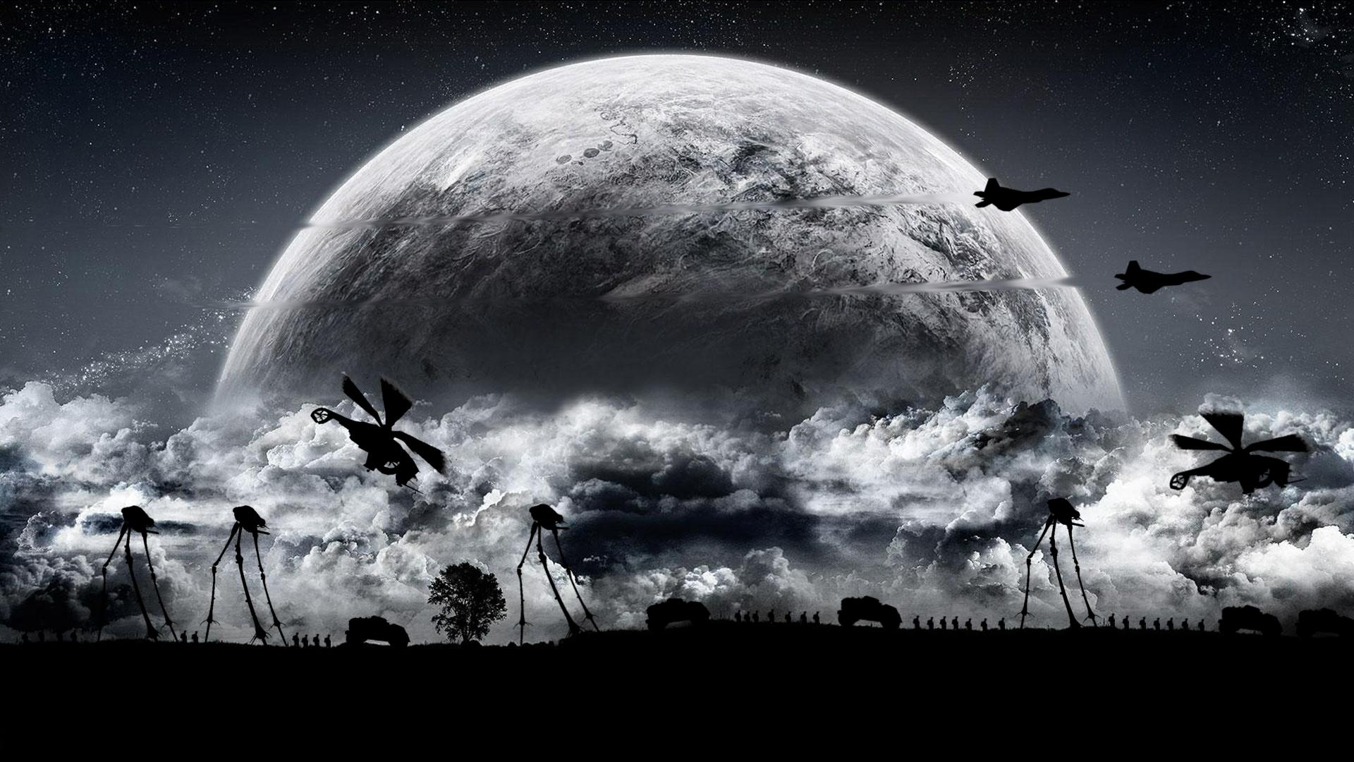 Half Life 2 Combine Wallpaper: Hl2 Combine + Moon By TmViktor On DeviantArt