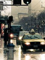 rainy day by glarbinator