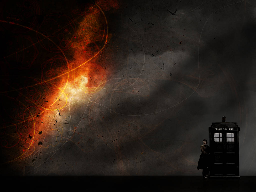 Tenth Doctor Wallpaper 2 by glarbinator