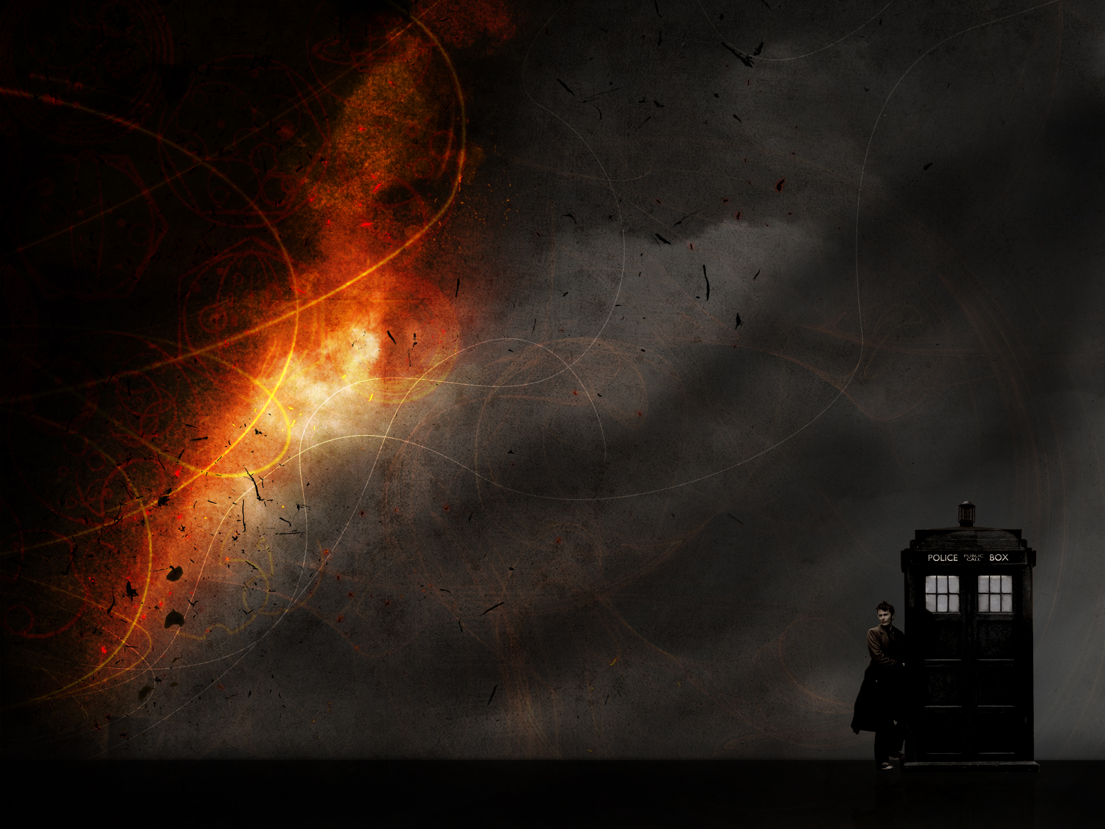 Doctor Who Tardis Screensaver