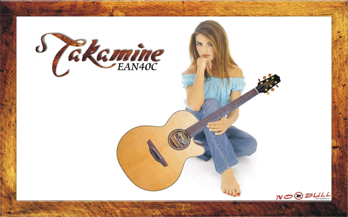Takamine Ean40c Guitar Wallpap By No Bull