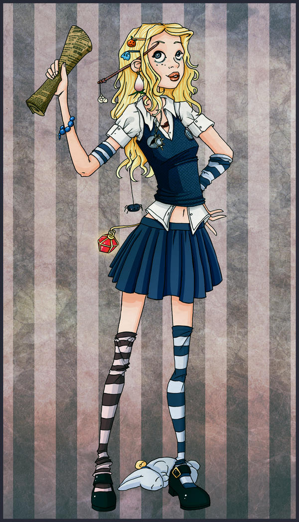 Luna Lovegood - HP by Val-eithel