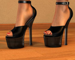 Sexy High Heels by 007Fanatic