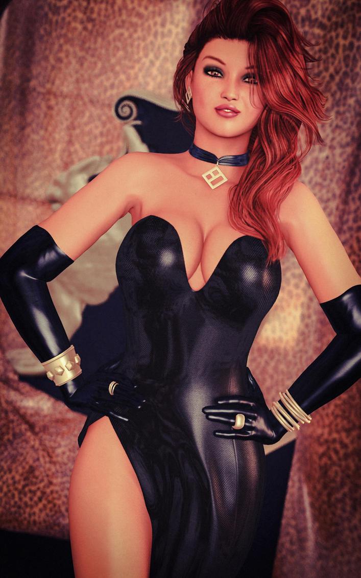 Tiffany - Black Gown by 007Fanatic