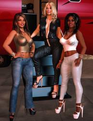 Erika Charis and Cassandra - Rich Girls by 007Fanatic