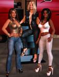 Erika Charis and Cassandra - Rich Girls
