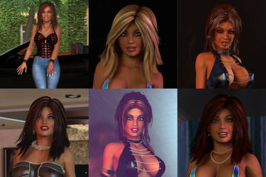 Erika - Hairstyles by 007Fanatic