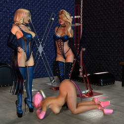 Charis and Heather - Mistress Initiation by 007Fanatic