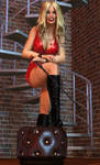 Charis - Blonde, Boobs, and Boots 2