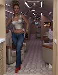Jennifer - Rich Girl - Private Jet 2021