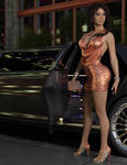 Naomi - Night on the Town 2021 by 007Fanatic