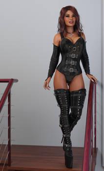 Erika - Sexy Latex Boots 2021