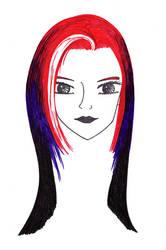 Char Sketch: Aeris Mercure by AeWolf