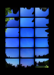 Midsummer Night Sky by AeWolf