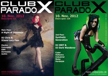 Flyer: Paradox NOV 2012 by AeWolf
