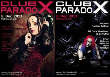 Flyer: Paradox DEC 2012 by AeWolf