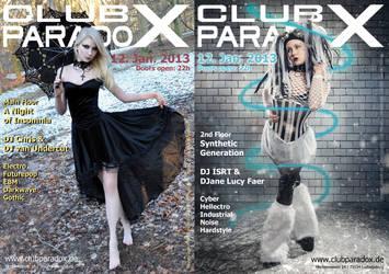 Flyer: Paradox JAN 2013 by AeWolf