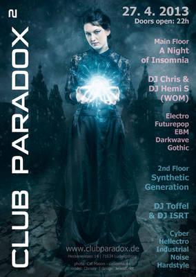 Flyer Paradox2 2013 APR