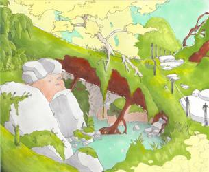 Imaginary Place by Jakuryusei