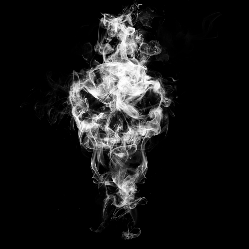 smoke skull by devC on DeviantArt