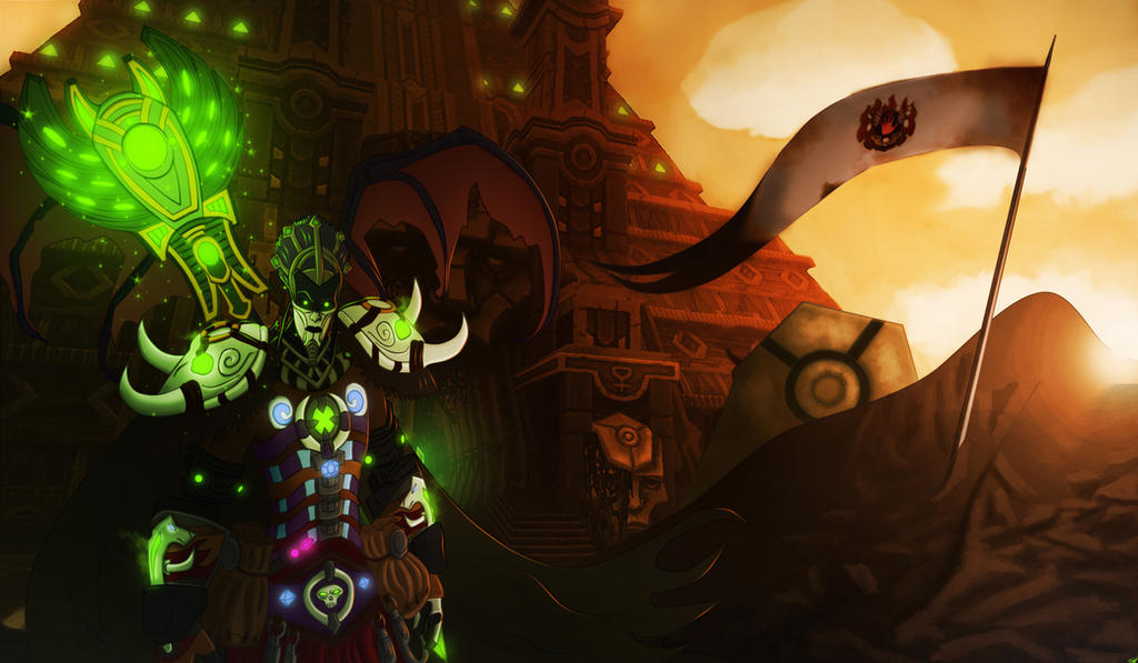 Character Comission: Myrilath by Sw1tchbl4de
